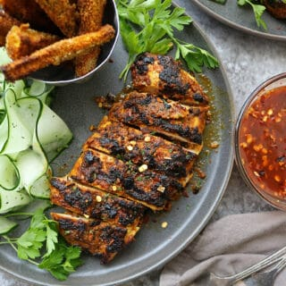 Sliced Grilled Curry Chicken