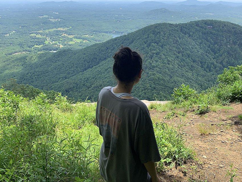 Top Of Mount Yonah