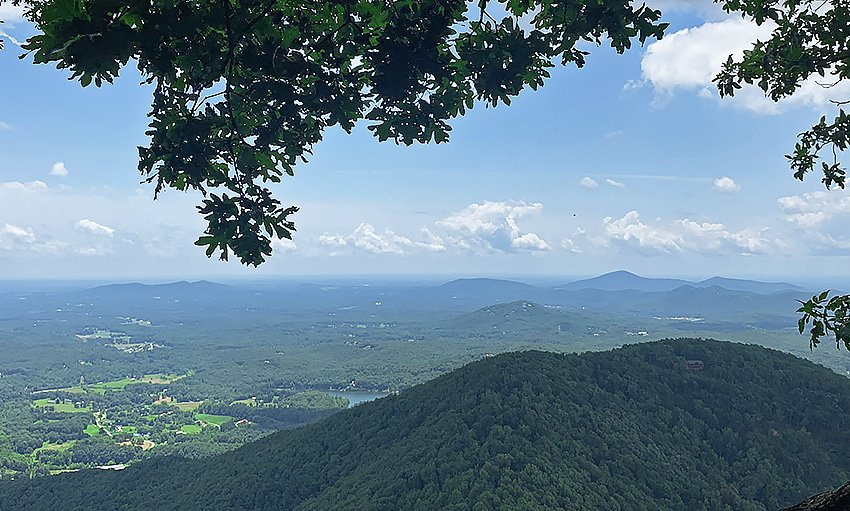 Views From Top Of Mount Yonah