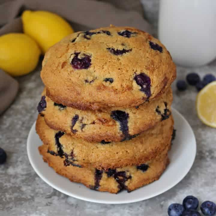 Gluten Free Lemon Blueberry Muffin Tops Photo