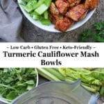 With kids back in school and the pace of life picking up, dinner doesn't have to be take out. In fact, you can have a tasty, nutritious, dinner on the table in less than 30 minutes by serving up these delicious bowls of Easy Turmeric Cauliflower Mash, Smithfield Marinated Fresh Pork, and a variety of greens.
