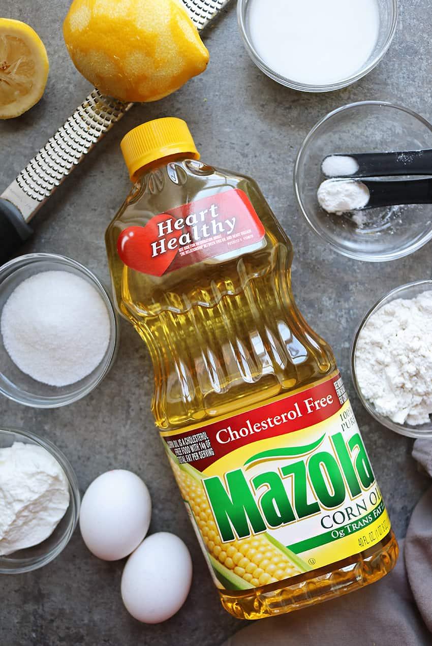 Ingredients To Make Lemon Cakes