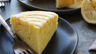 Easy Lemon Cake made with Mazola Corn Oil