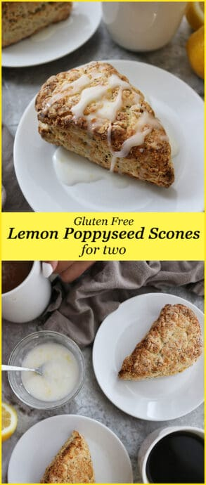 These Gluten Free Lemon Poppyseed Scones consist of 11 ingredients and are so easy to make. Just mix all your dry ingredients and then mix the wet ingredients into the dry ones.