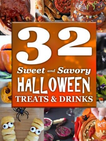 32 Sweet and Savory Halloween Treats & Drinks