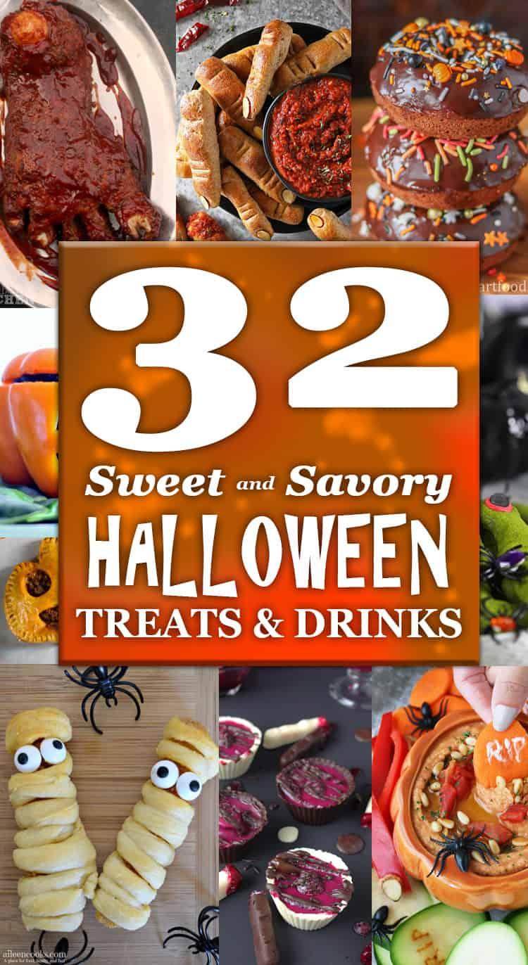 32 Sweet and Savory Halloween Treats