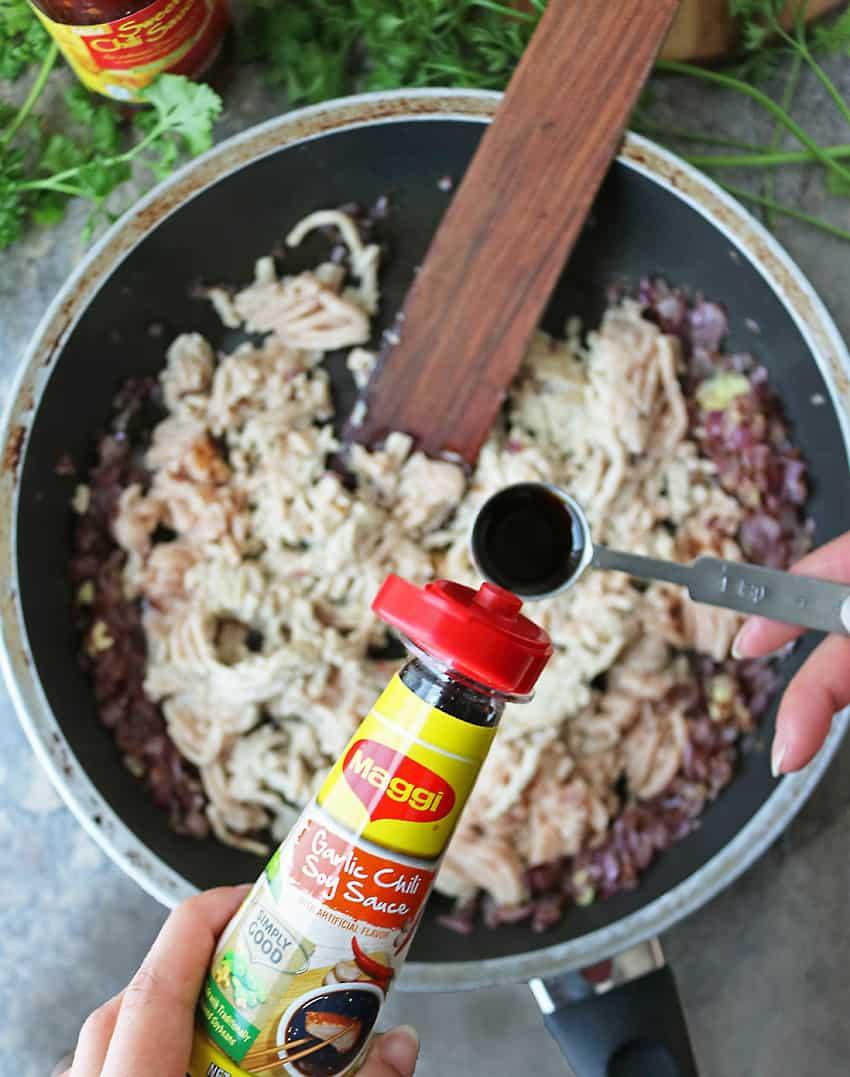 Making Chicken Potato Croquettes