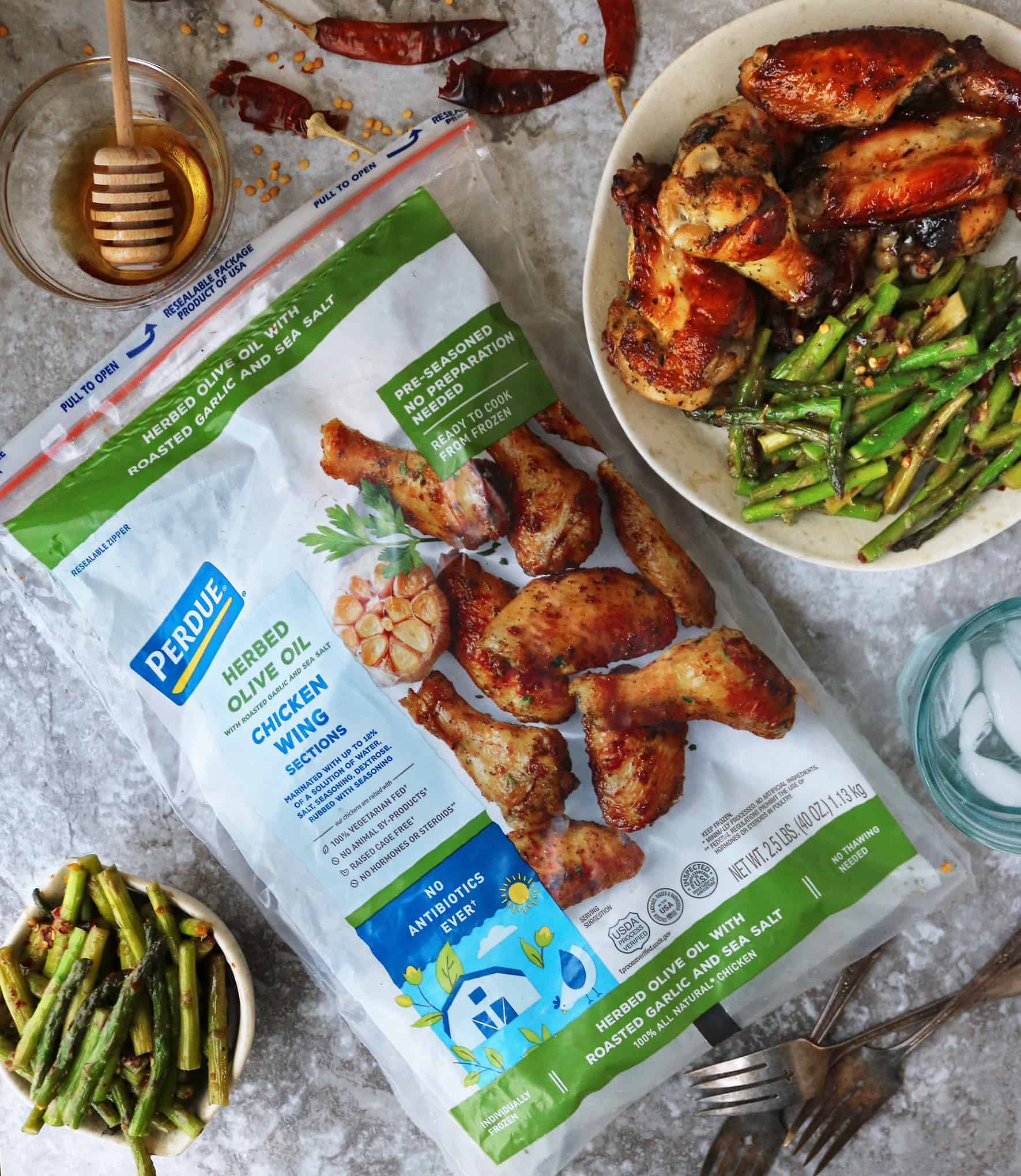 Delicious PERDUE® Herbed Olive Oil Seasoned Wings