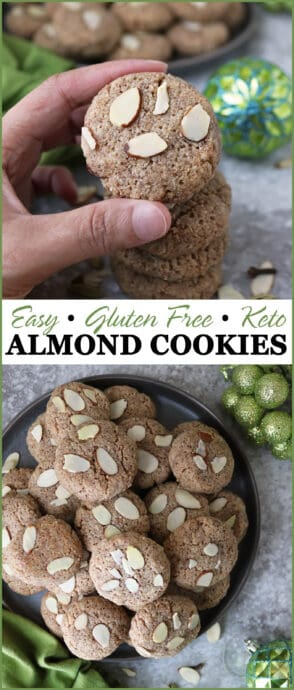 Easy Grain-Free Keto Almond Cookies For Christmas #SproutsTreatExchange #SproutsBrand @Sprouts