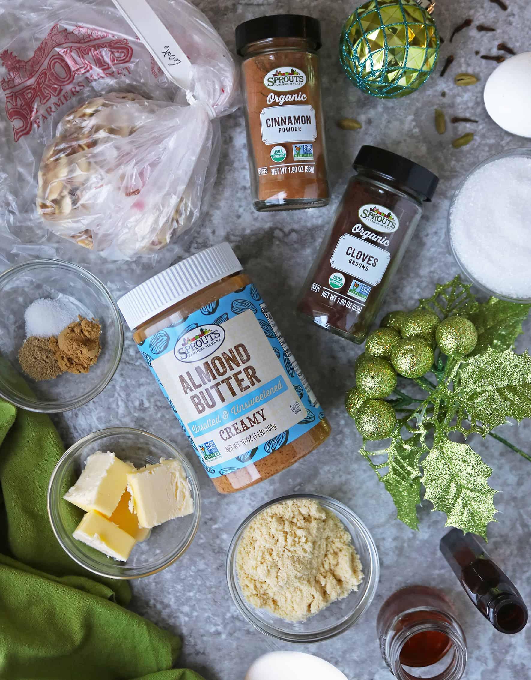 Photo of Ingredients To Make Keto Almond Cookies