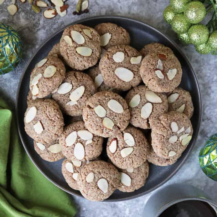 Gluten Free Keto Almond Cookies