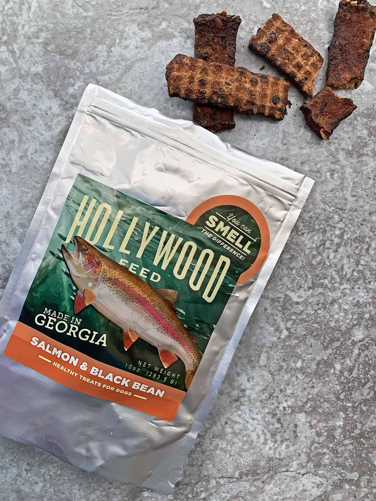 Hollywood Feed Salmon Black Bean Jerky