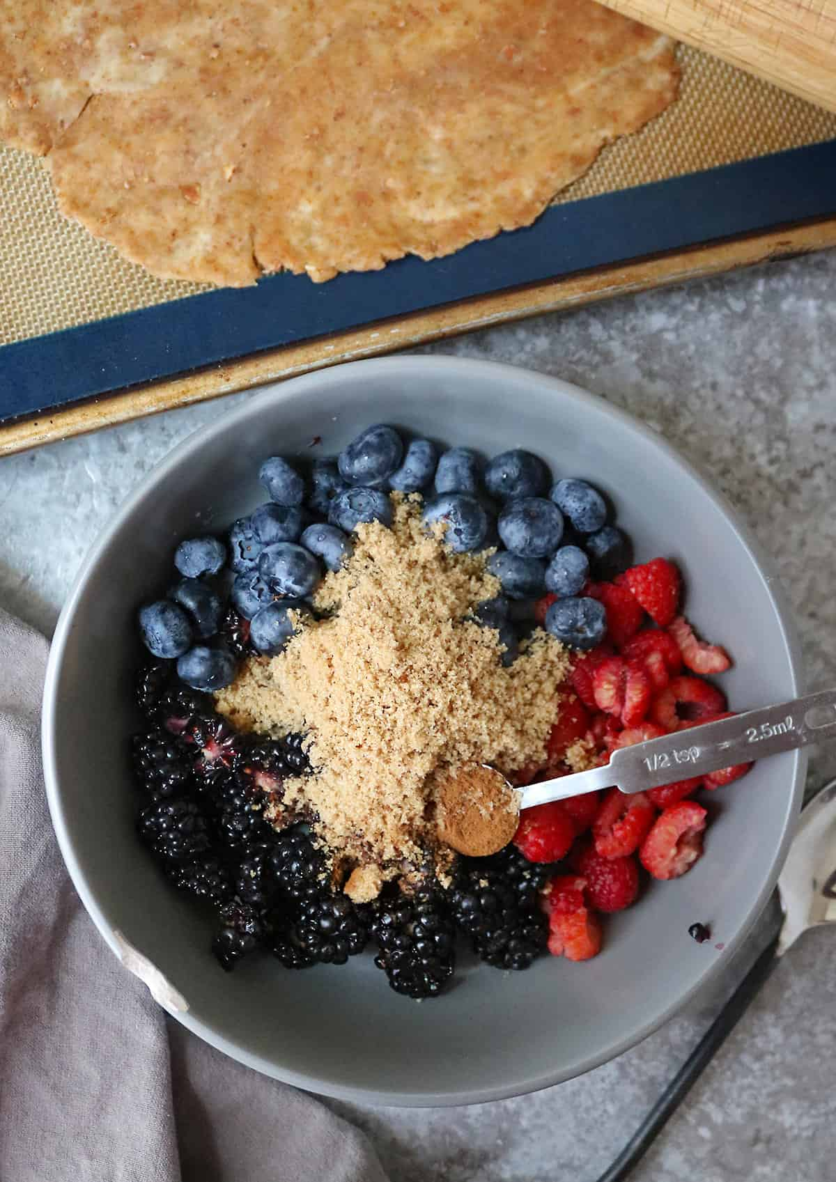 Berry filling For 3 Ingredient Rustic Tart Galette