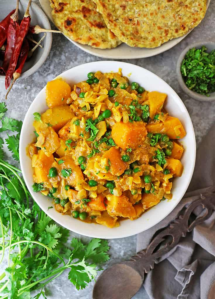 Easy Butternut squash curry with Chiltepin Wild Chile Pepper