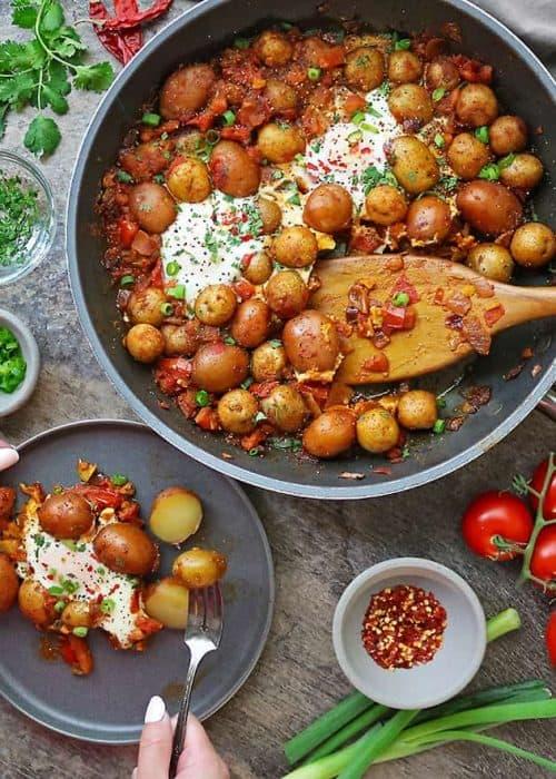 Potato Shakshuka
