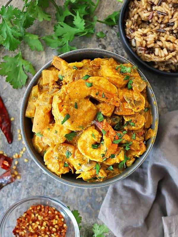 Easy Shrimp Curry Recipe