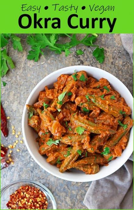Easy Healthy Okra Curry Recipe