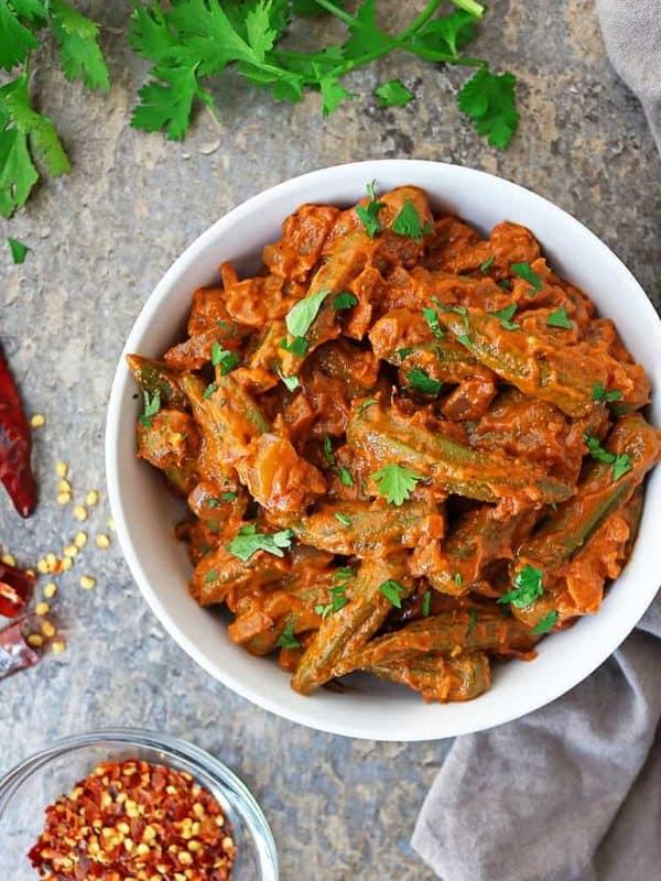 Easy Okra Curry Recipe