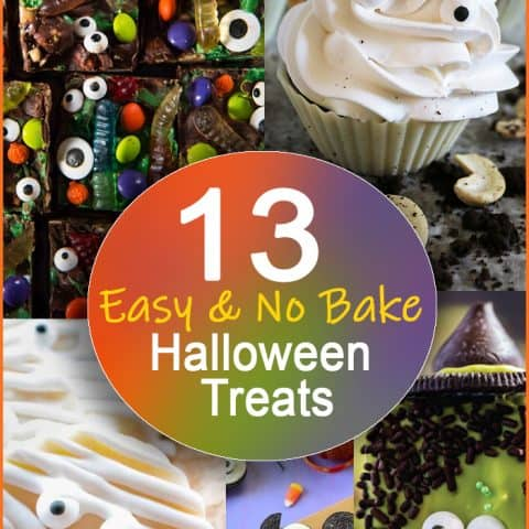 13 Easy No Bake Halloween Treats
