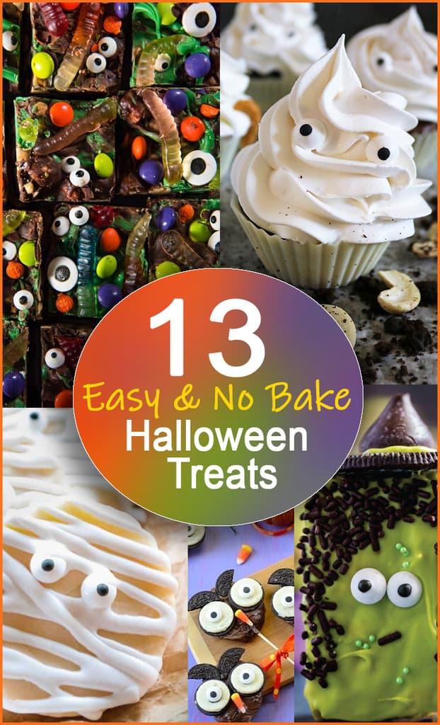 13 Easy No Bake Halloween Treats