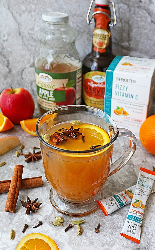 Delicious Spiced Citrus Mulled Juice with Sprouts Fizzy Cs Tart Orange