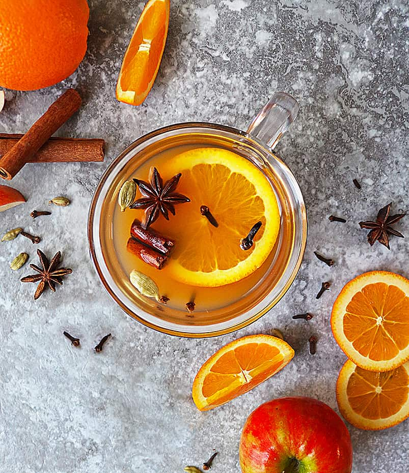 Easy Healthy Spiced Citrus Mulled Juice