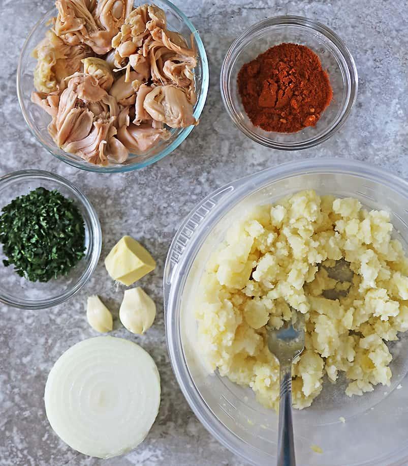 7 Ingredients to make jackfruit balls