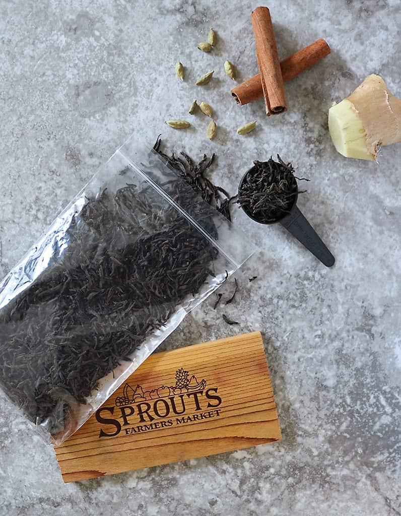 Sprouts loose leaf tea bulk bins