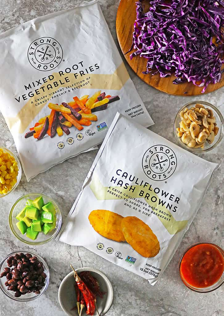 quick, easy, nutritious, Strong Roots Plant based snacks