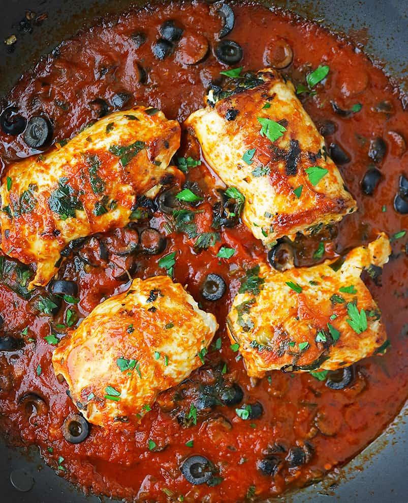 Tasty Spicy Chicken Saltimbocca