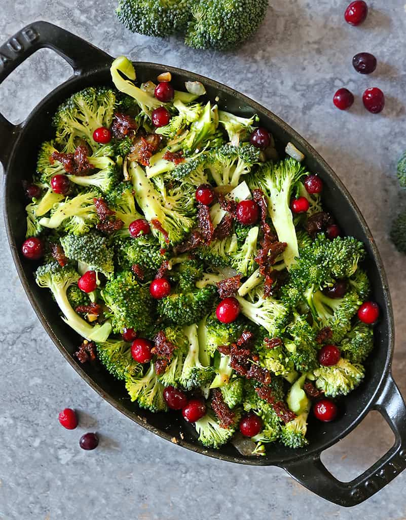 Almost ready Healthy Broccoli Gratin