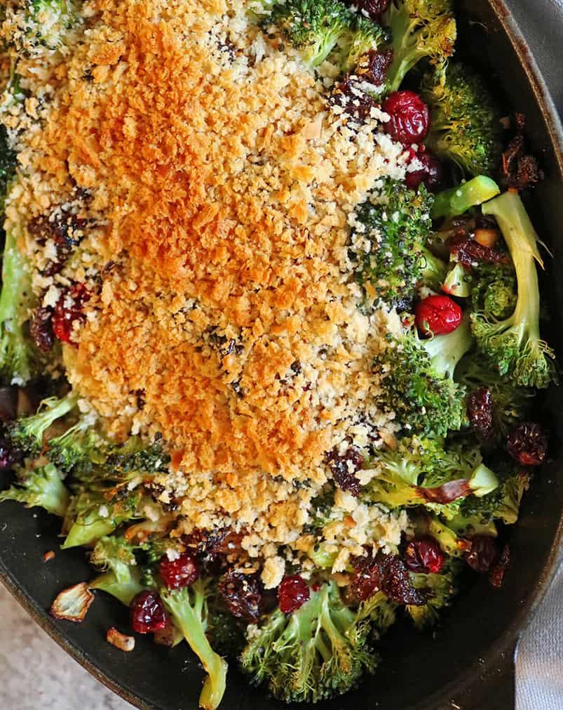 Easy Healthy Broccoli Gratin
