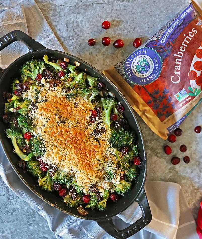 Easy tasty Healthy Broccoli Gratin for thanksgiving