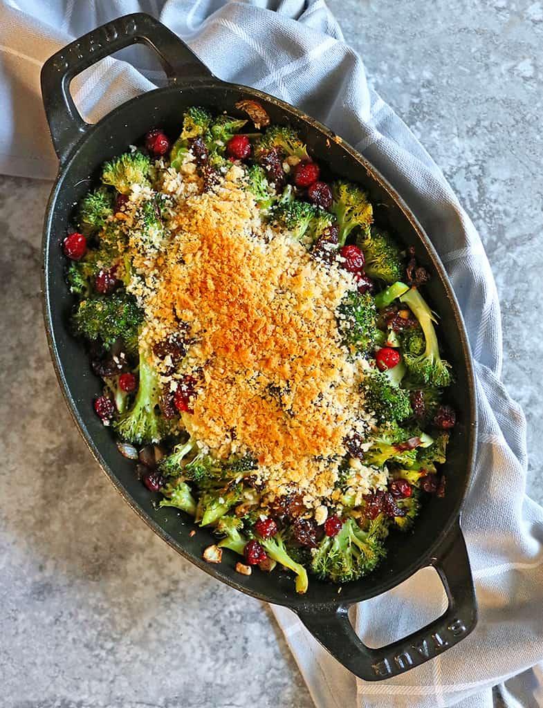 Healthy Broccoli Gratin