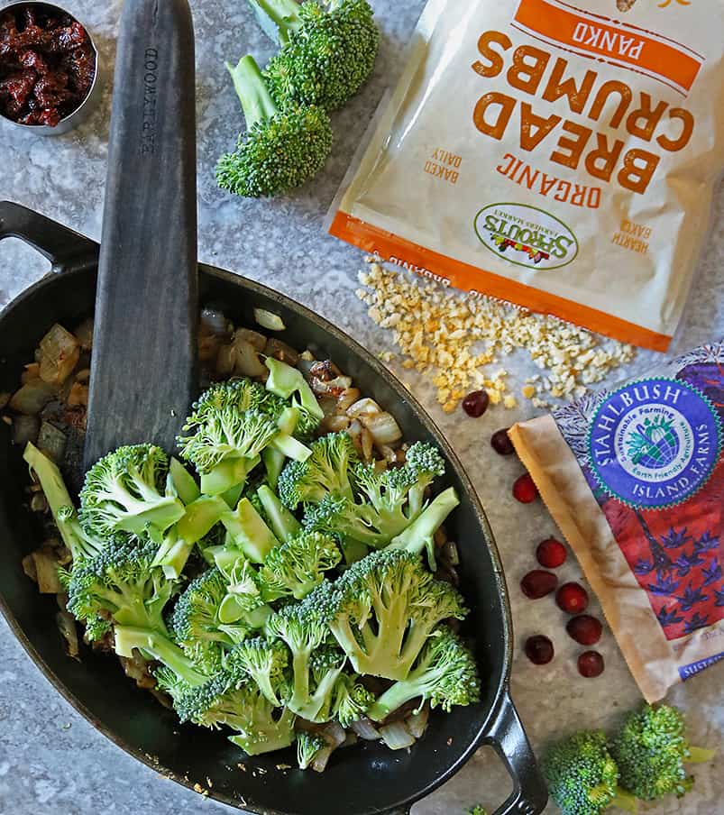 Making Healthy Broccoli Gratin