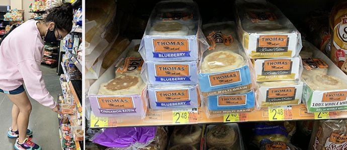 Thomas at Walmart