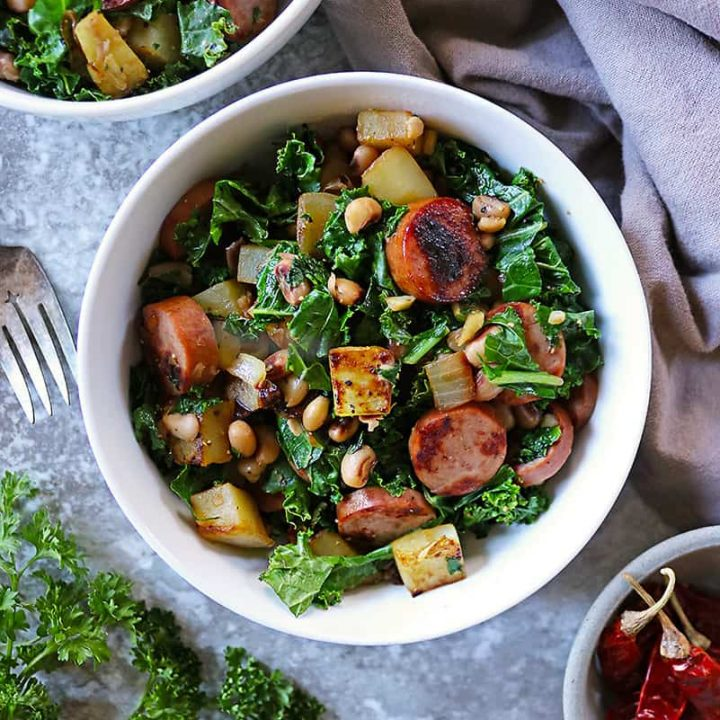 Easy 6-Ingredient New Years Dinner For Good Fortune