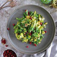 Sauteed Warm Easy Christmas Salad