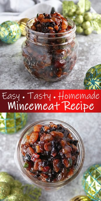 Easy Homemade Mincemeat Recipe