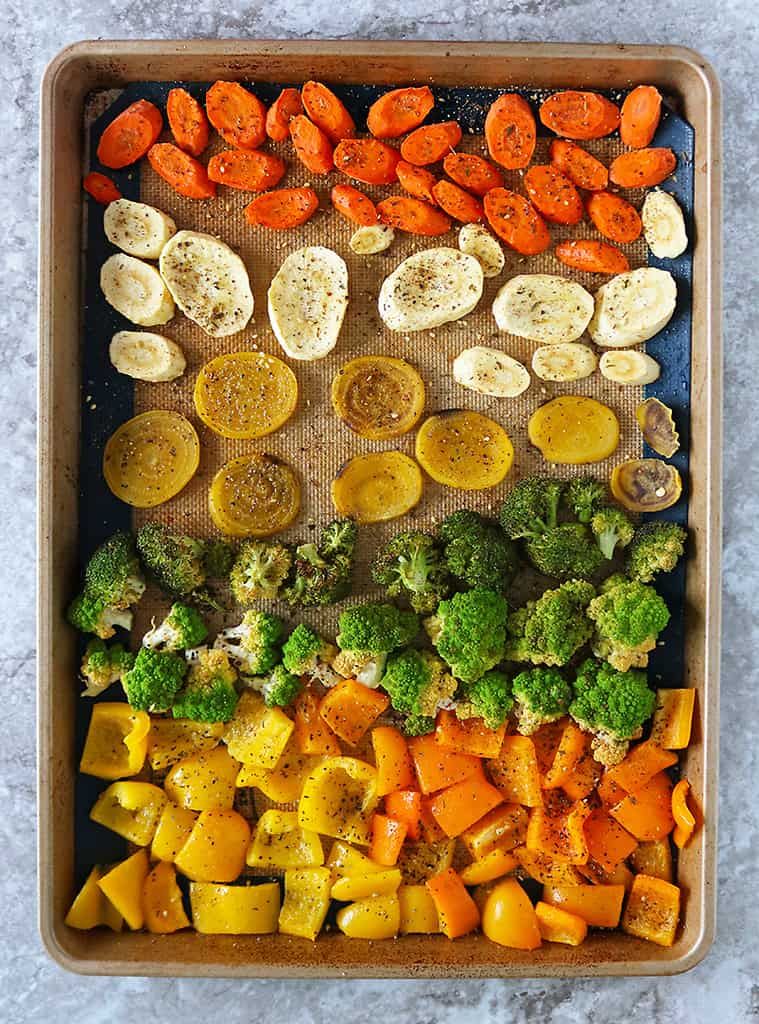 zaatar roasted veggies