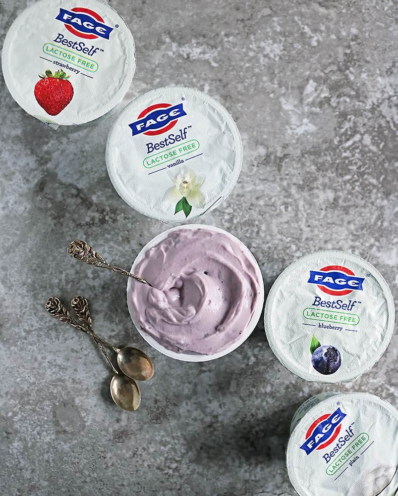 5 containers of FAGE BestSelf