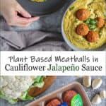 Cauliflower Jalapeño Vegan Sauce