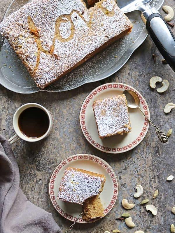 Cashew Semolina Cake Recipe (Sri Lankan Love Cake)