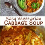The best vegetarian cabbage soup recipe