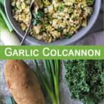 #ad With St. Patrick's Day right around the corner, this garlic colcannon recipe is a comforting and budget-friendly addition to your Irish-themed meal. I so love that Sprouts has everything I need to make a delicious and memorable St. Patrick's Day meal at home. You can find all the ingredients to make this dish (or any other traditional Irish dish you fancy) at your local Sprouts. And, if you are looking for corned beef and sauerkraut to enjoy with this garlic colcannon, Sprouts has you covered! If you want to stretch your culinary skills and add your own spin to this garlic colcannon, chances are that a walk-through Sprouts will have you inspired! #lovesprouts #sproutspartner