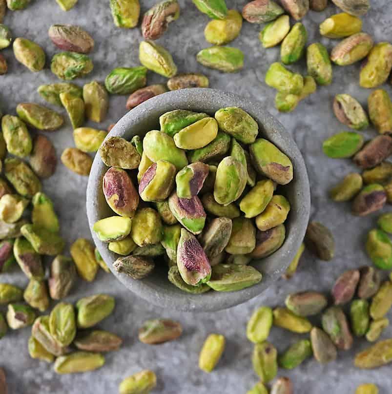The most nutritious nut - pistachios