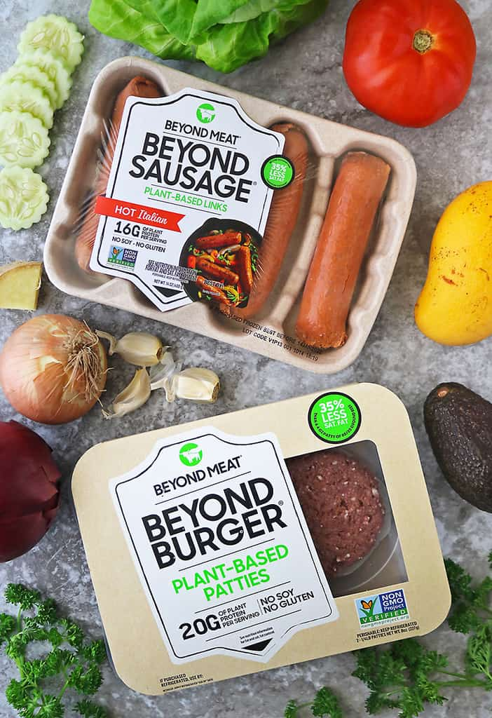 Beyond Meat Burgers And Sausage