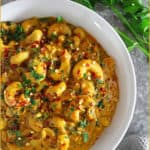 Easy Creamy Sri Lankan Cashew Curry
