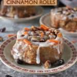 Easy Carrot Cake Cinnamon Rolls Recipe