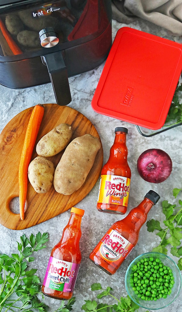Tailgating season with Frank's RedHot products and Pyrex + Instant Pot